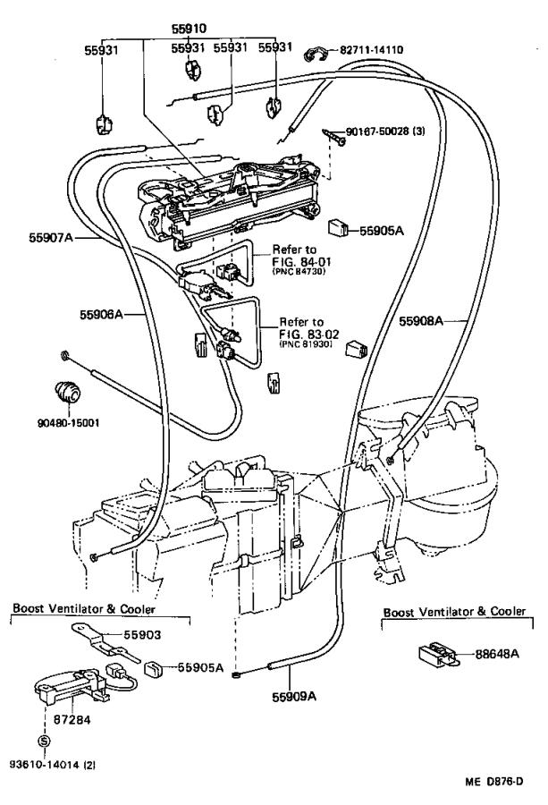 Toyota 4runner Cable Sub